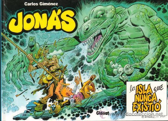 Cómics: TEBEOS-COMICS GOYO - JONAS Y LA ISLA QUE NUNCA EXISTIO - GLENAT -MUY RARO DE VER ESTE ESTADO *AA99 - Foto 2 - 32725626