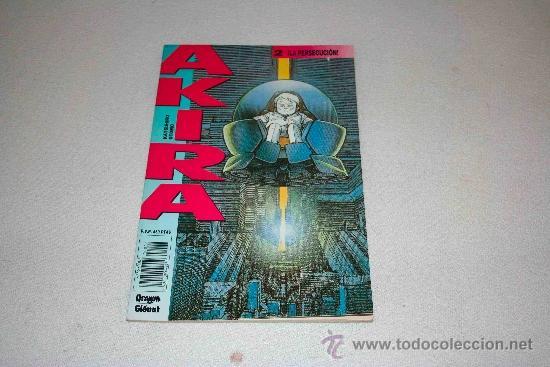 AKIRA Nº 2 LA PERSECUCIÓN EDITORIAL GLENAT --- ¡OFERTA! (Tebeos y Comics - Glénat - Comic USA)