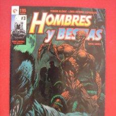 Cómics: HOMBRES Y BESTIAS Nº 3 (DE 3). AUTOR, RAFAEL GARRÉS. EDITORIAL GLENAT AÑO 1995.. Lote 33193245