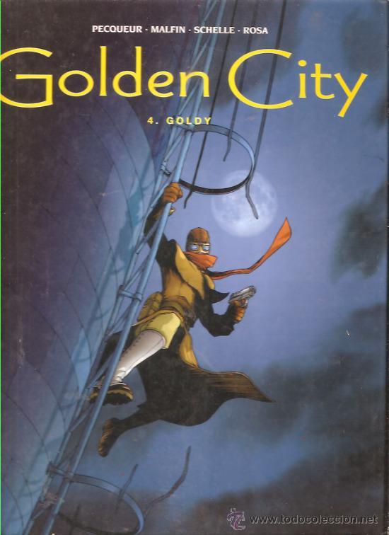 GOLDEN CITY Nº 4 * GOLDY * (Tebeos y Comics - Glénat - Comic USA)