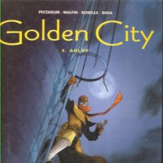 Cómics: GOLDEN CITY Nº 4 * GOLDY *. Lote 33306287