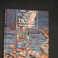 Cómics: EL VIENTO DE LOS DIOSES - T 1 - LA SANGRE DE LA LUNA - GLENAT - . Lote 34346810