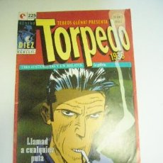 Cómics: TORPEDO 1936 Nº 10 GLENAT ABULÍ Y BERNET C29. Lote 34562096