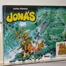 Cómics: JONAS LA ISLA QUE NUNCA EXISTIO CARLOS GIMENEZ GLENAT OFERTA. Lote 122862420