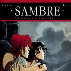 Fumetti: SAMBRE TOMO 1 - YA NADA ME IMPORTA.... Lote 35205220