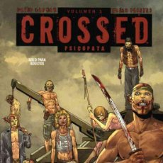 Cómics: CROSSED TOMO 3: PSICOPATA (GLENAT,2012) - DAVID LAPHAM. Lote 35313256