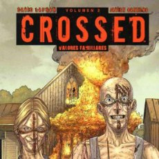 Cómics: CROSSED TOMO 2: VALORES FAMILIARES (GLENAT,2011) - DAVID LAPHAM. Lote 35313317