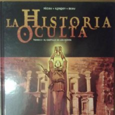 Cómics: LA HISTORIA OCULTA TOMO 2. EL CASTILLO DE LOS DJINNS. Lote 35489666