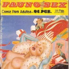 Cómics: FAUNO SEX Nº6. Lote 35865027