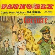 Cómics: FAUNO SEX Nº7. Lote 35865052