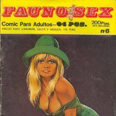 Cómics: FAUNO SEX Nº8. Lote 35865091