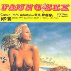 Cómics: FAUNO SEX Nº10. Lote 35865118