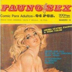 Cómics: FAUNO SEX Nº14. Lote 35865134