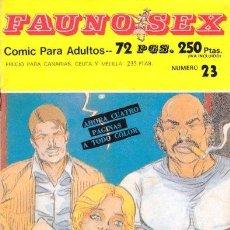 Cómics: FAUNO SEX Nº23. Lote 35865203