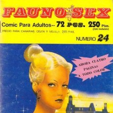 Cómics: FAUNO SEX Nº24. Lote 35865304