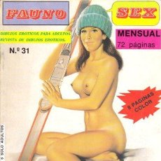 Cómics: FAUNO SEX Nº31. Lote 35865337