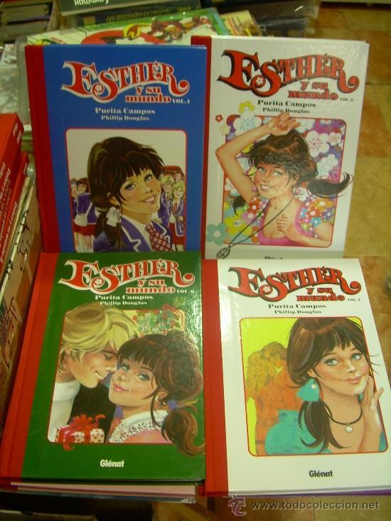 ESTHER Y SU MUNDO GLENAT TOMOS 1 AL 9 .OFERTON!!!!!!!!!! (Tebeos y Comics - Glénat - Autores Españoles)