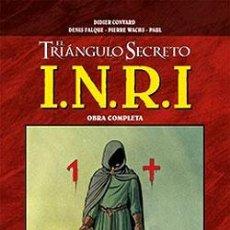 Cómics: EL TRIÁNGULO SECRETO: I.N.R.I. (OBRA COMPLETA EN UN TOMO).. Lote 36574302