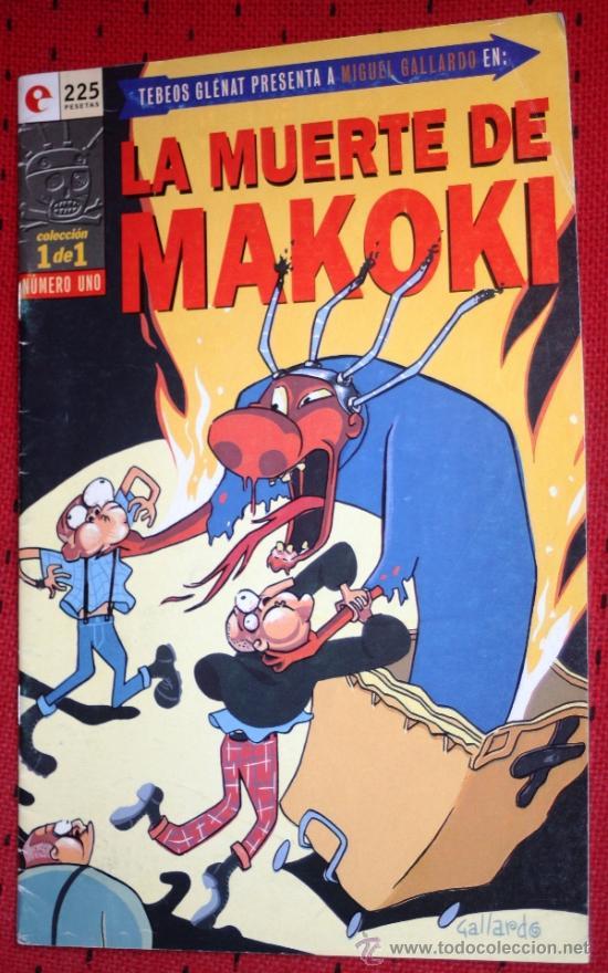 LA MUERTE DE MAKOKI ( DE MIGUEL GALLARDO). NUMERO UNICO (Tebeos y Comics - Glénat - Autores Españoles)