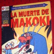 Cómics: LA MUERTE DE MAKOKI ( DE MIGUEL GALLARDO). NUMERO UNICO. Lote 36592778