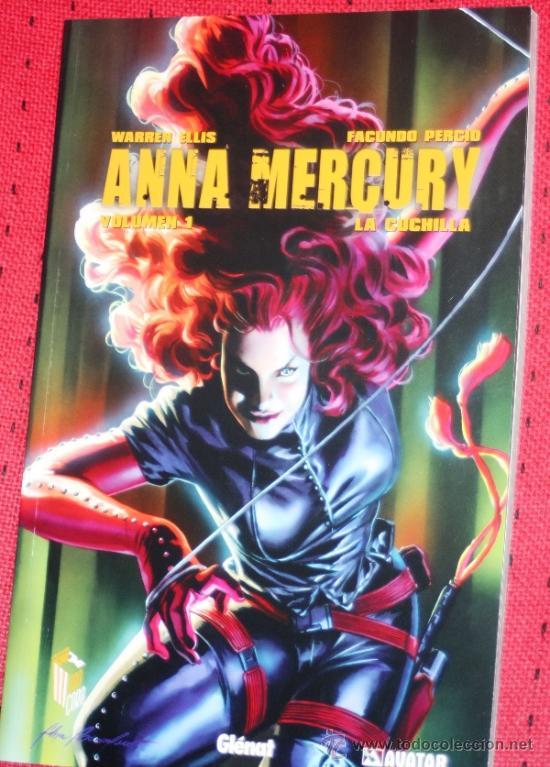 ANNA MERCURY VOL. 01: LA CUCHILLA- WARREN ELLIS & FACUNDO PERCIO-(COLECCIÓN AVATAR)NUEVO Y REBAJADO (Tebeos y Comics - Glénat - Comic USA)