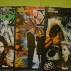 Cómics: THE X FILES. 1 AL 9 EN 3 RETAPADOS. Lote 36869299