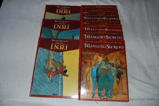EL TRIANGULO SECRETO / I.N.R.I 10 TOMOS (Tebeos y Comics - Glénat - Autores Españoles)