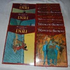 Cómics: EL TRIANGULO SECRETO / I.N.R.I 10 TOMOS. Lote 36975075