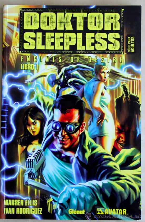 DOKTOR SLEEPLESS DE WARREN ELLIS. (Tebeos y Comics - Glénat - Comic USA)