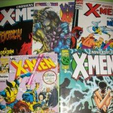 Cómics: LOTE 5 COMICS X MEN - CRONICAS DE LOS X-MEN - #3 A #5 + CLASSIC X-MEN #4 + NUEVAS AVENTURAS #1 - CAS. Lote 37412980