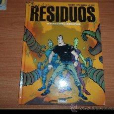 Comics: RESIDUOS UNA AVENTURA DE MIRKO AGENTE ESPACIAL ALBUM TAPA DURA EDITORIAL GLENAT. Lote 37771320