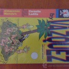 Cómics: VAZQUEZ - SERIE COMPLETA DE 6 NºS - GLENAT. Lote 38128074