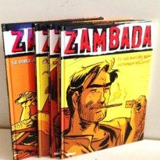 Cómics: ZAMBADA -- 4 TOMOS COMPLETA -- AUTHEMAN-MALTAITE -- GLENAT -- COLECCIÓN VIÑETAS NEGRAS. Lote 38235175