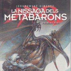 Cómics: LA NISSAGA DELS METABARONS -- 1ª PART -- EN CATALÀ. Lote 38485701