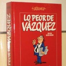 Cómics: LO PEOR DE VAZQUEZ - GLENAT OFERTA. Lote 57954398