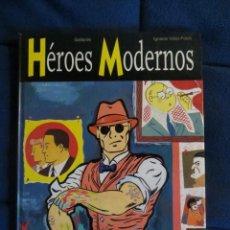 Cómics: HEROES MODERNOS. DE GALLARDO, IGNACIO VIDAL-FOLCH. OBRA COMPLETA / GLENAT. Lote 40142299
