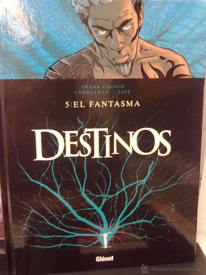DESTINOS - TOMO 5 -EL FANTASMA -TAPA DURA (Tebeos y Comics - Glénat - Comic USA)