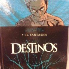 Cómics: DESTINOS - TOMO 5 -EL FANTASMA -TAPA DURA. Lote 40375051