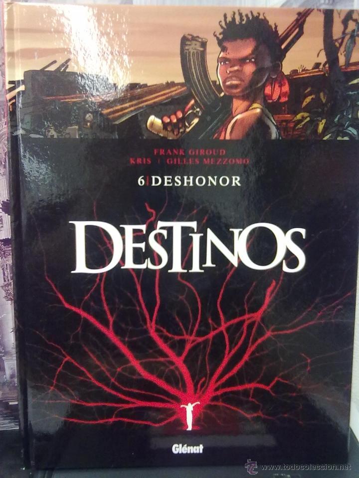 DESTINOS - TOMO 6 -DESHONOR -TAPA DURA (Tebeos y Comics - Glénat - Comic USA)