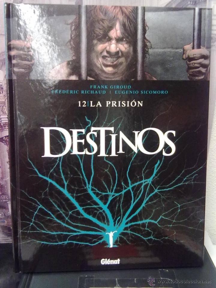 DESTINOS - TOMO 12 - LA PRISIÓN -TAPA DURA (Tebeos y Comics - Glénat - Comic USA)