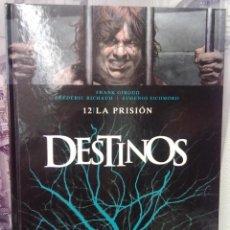 Cómics: DESTINOS - TOMO 12 - LA PRISIÓN -TAPA DURA. Lote 40375081