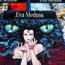 Cómics: EVA MEDUSA. SEGURA & MIRALLES. EDITORIAL GLÉNAT. COMPLETA 3 ÁLBUMES.. Lote 40421139
