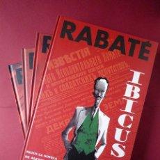 Cómics: IBICUS. RABATÉ. GLÉNAT. SEGUN LA NOVELA DE A. TOLSTOI. 4 VOLUMENES. COLECCION COMPLETA.. Lote 40560144