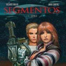 Cómics: SEGMENTOS : LEXÍPOLIS (R.MALKA & JUAN GIMENEZ) MUY BUENO Y REBAJADO.. Lote 40770683