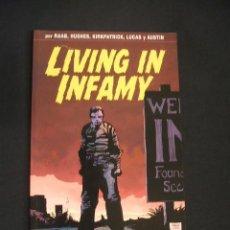 Cómics: LIVING IN INFAMY - RAAB - HUGHES - LUCAS - GLENAT - . Lote 40814464