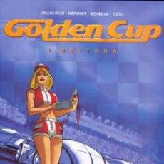 Cómics: GOLDEN CUP LOTE DE 3 ALBUMES (1-2-3). Lote 41132214