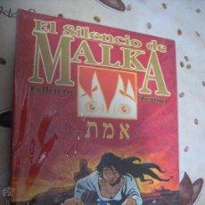 Cómics: EL SILENCIO DE MALKA. Lote 41017984