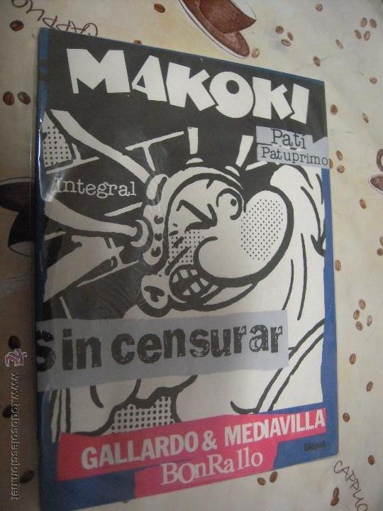 Cómics: MAKOKI INTEGRAL SIN CENSURAR - Foto 1 - 41018255