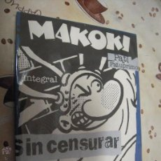 Cómics: MAKOKI INTEGRAL SIN CENSURAR. Lote 41018255