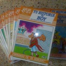 Cómics: FORGES HISTORIA DE HOY ; COMPLETA 12 TOMOS 1988 TAPAS DURAS. Lote 41402864